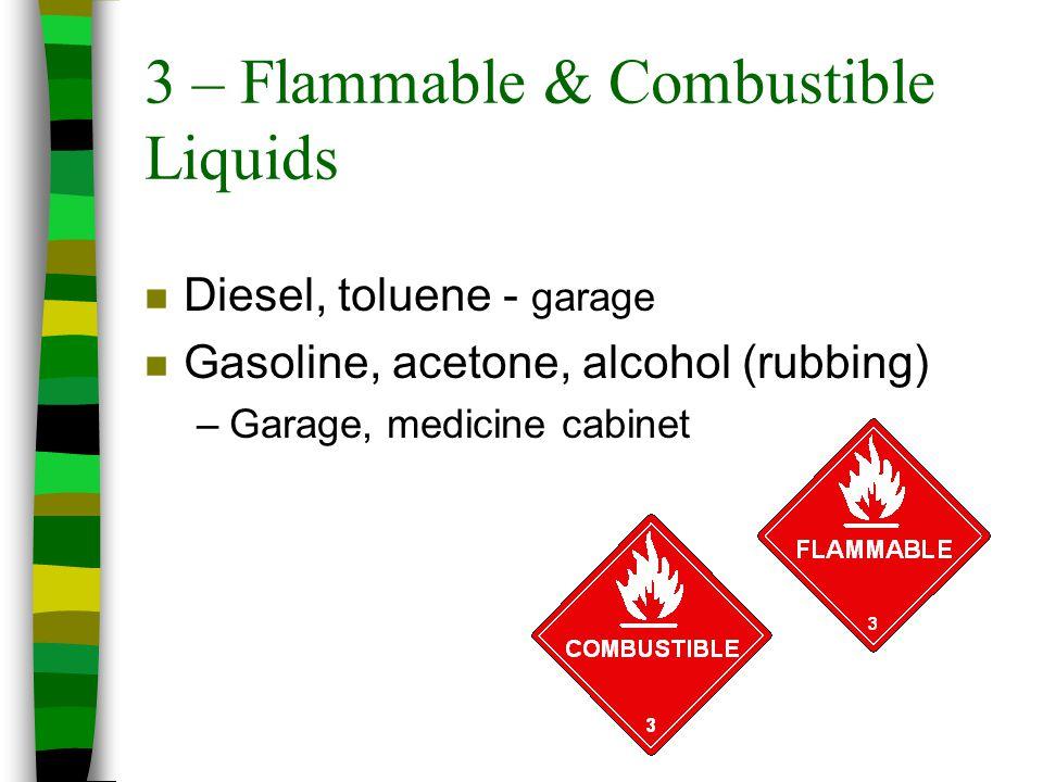 3 – Flammable & Combustible Liquids