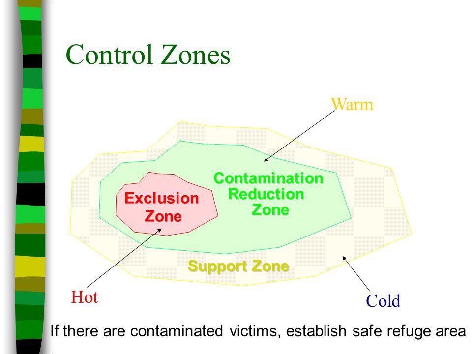 Contamination Reduction Zone