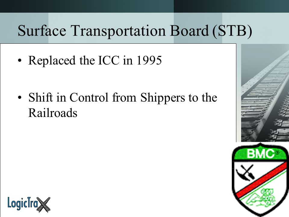 Surface Transportation Board (STB)
