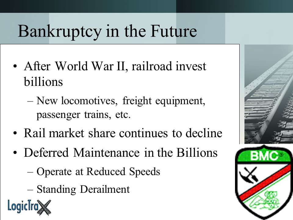 Bankruptcy in the Future