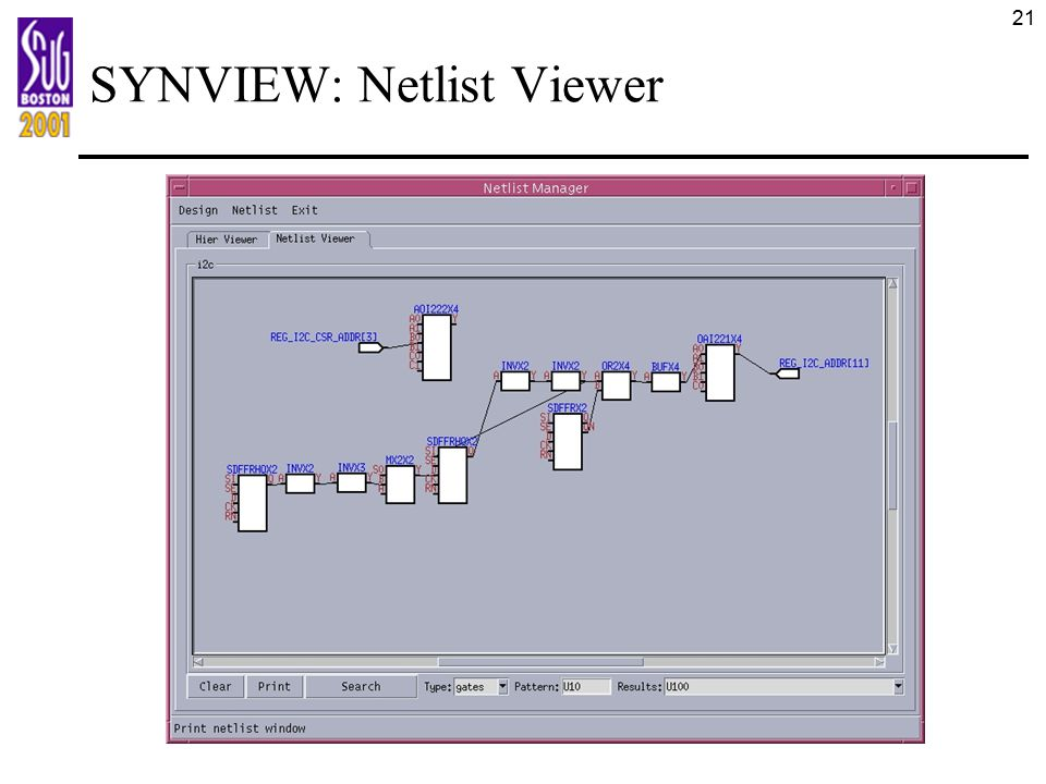 SYNVIEW: Netlist Viewer