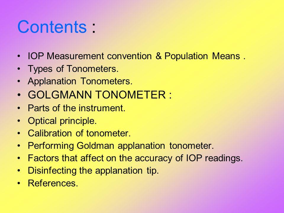 schiotz tonometer conversion chart