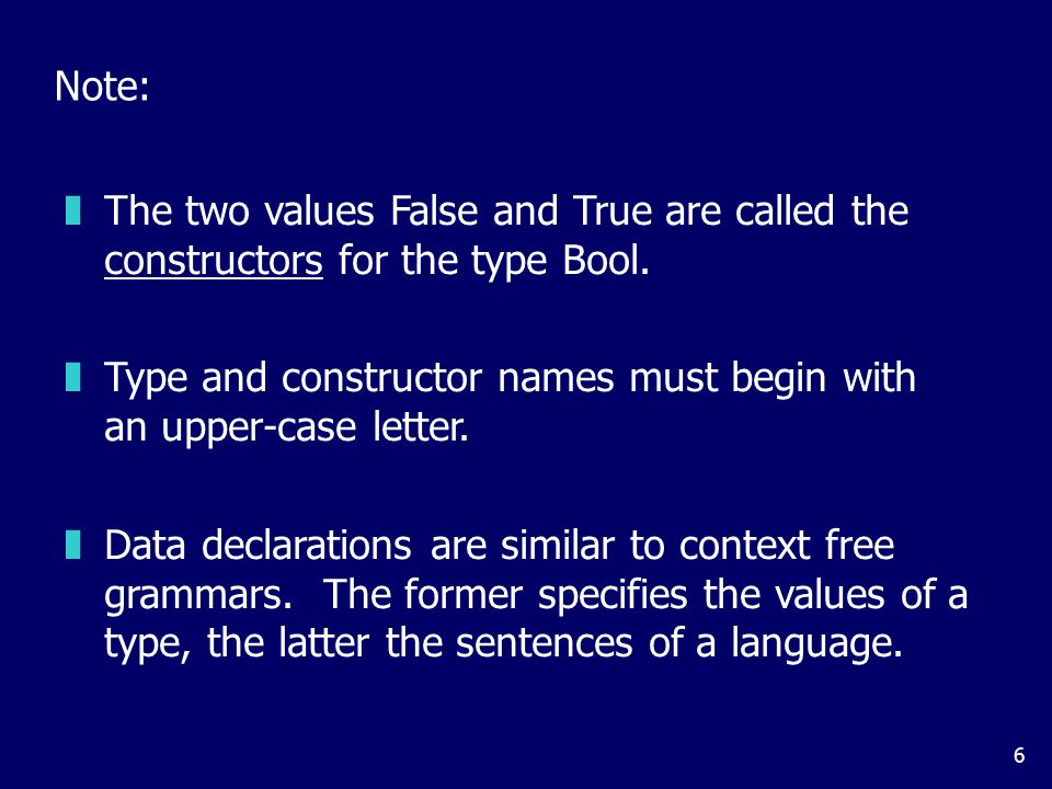Values of new types can be used in the same ways as those of built in types. For example, given