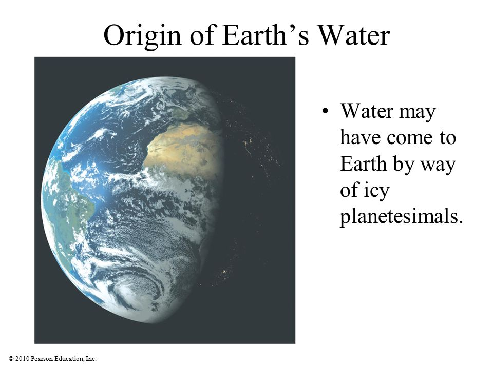Origin of Earth's Water