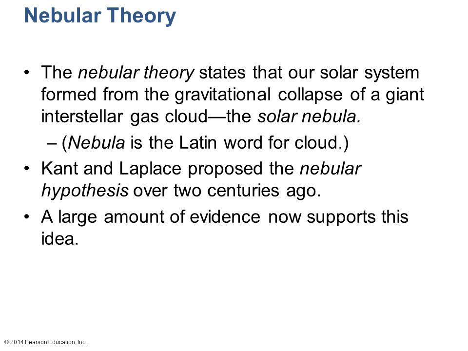 Nebular Theory