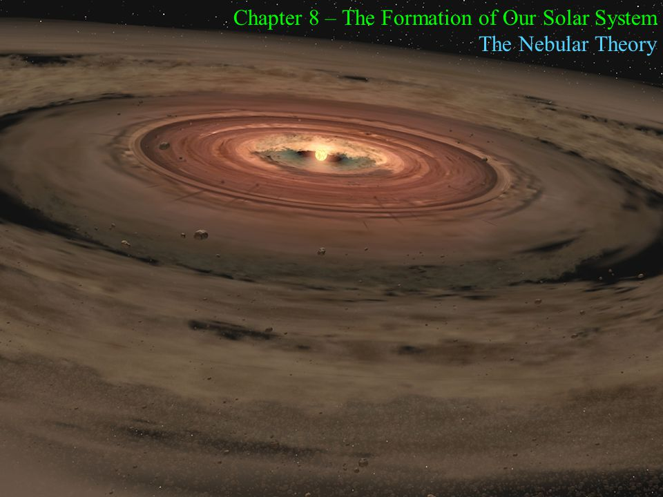 Chapter 8 – The Formation of Our Solar System