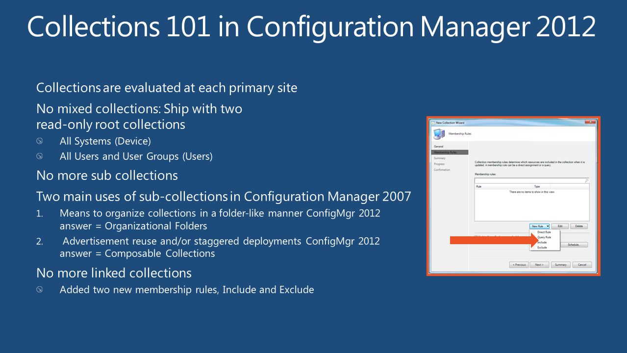 Collections 101 in Configuration Manager 2012