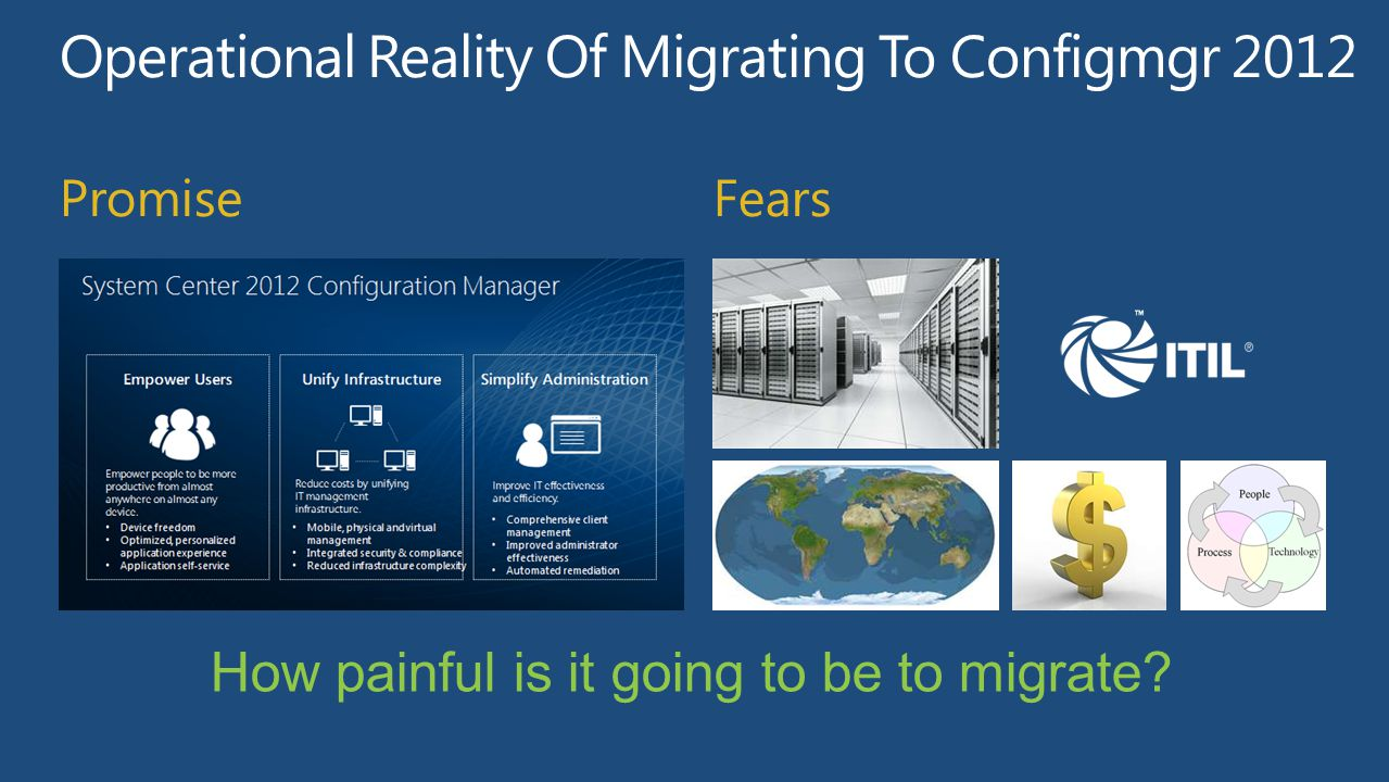 Operational Reality Of Migrating To Configmgr 2012