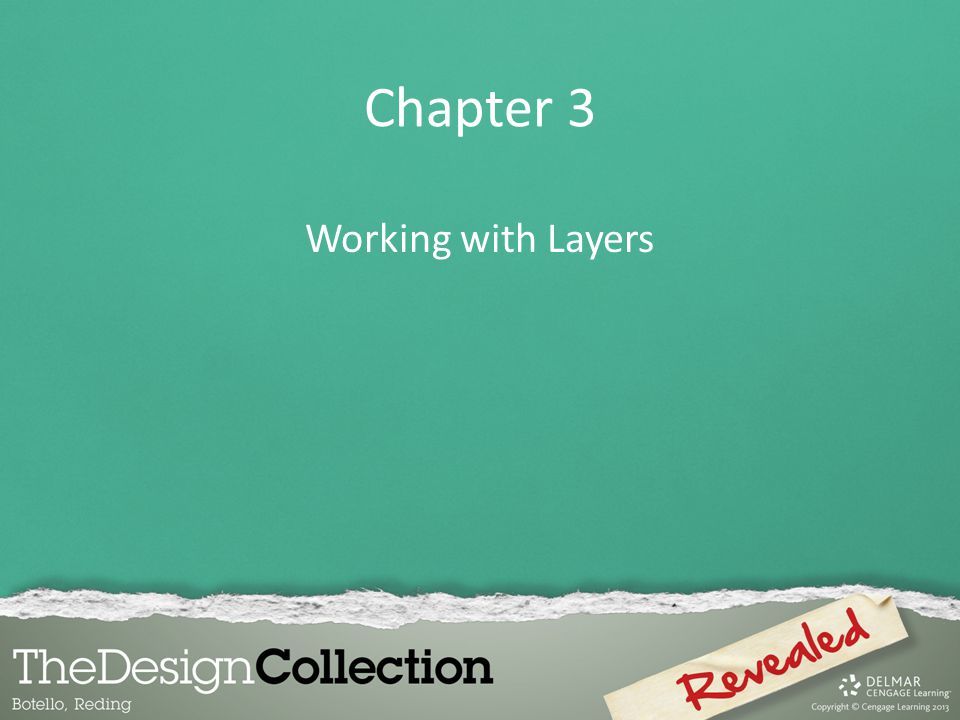 Chapter 3 Working with Layers
