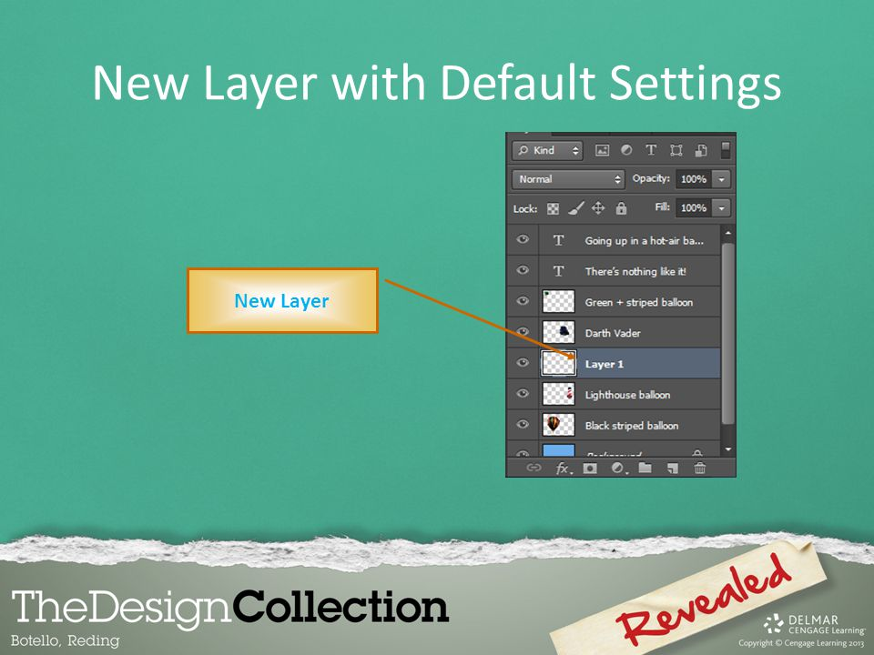 New Layer with Default Settings