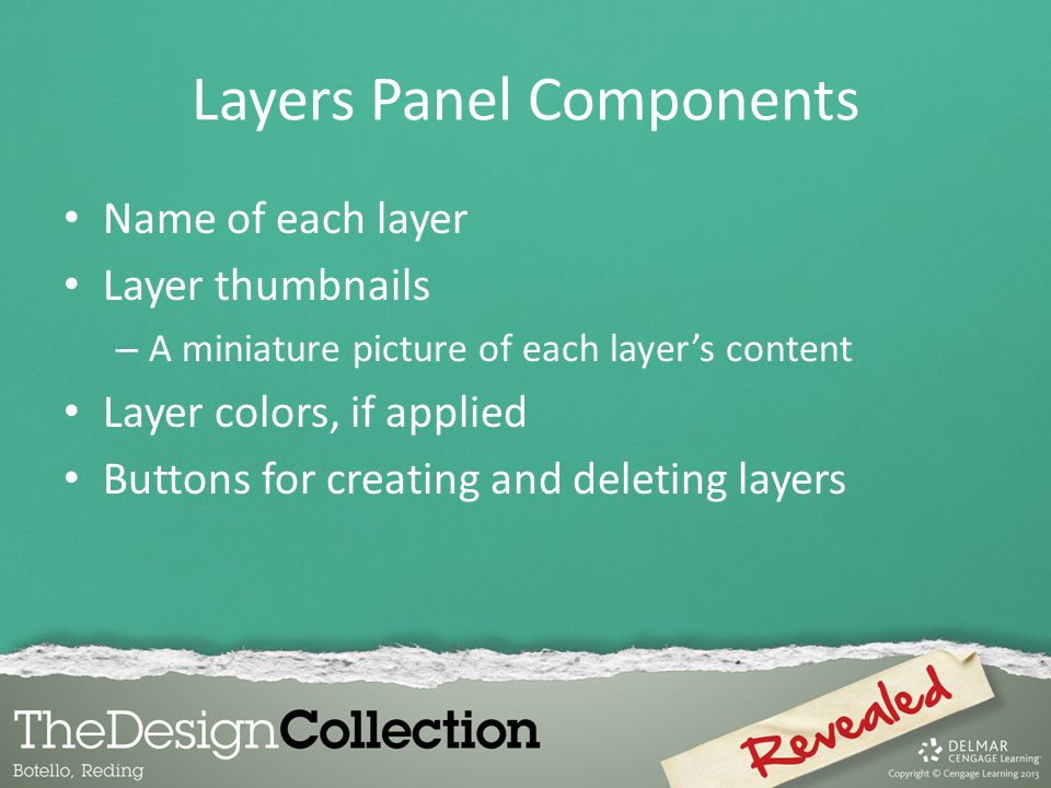 Layers Panel Components