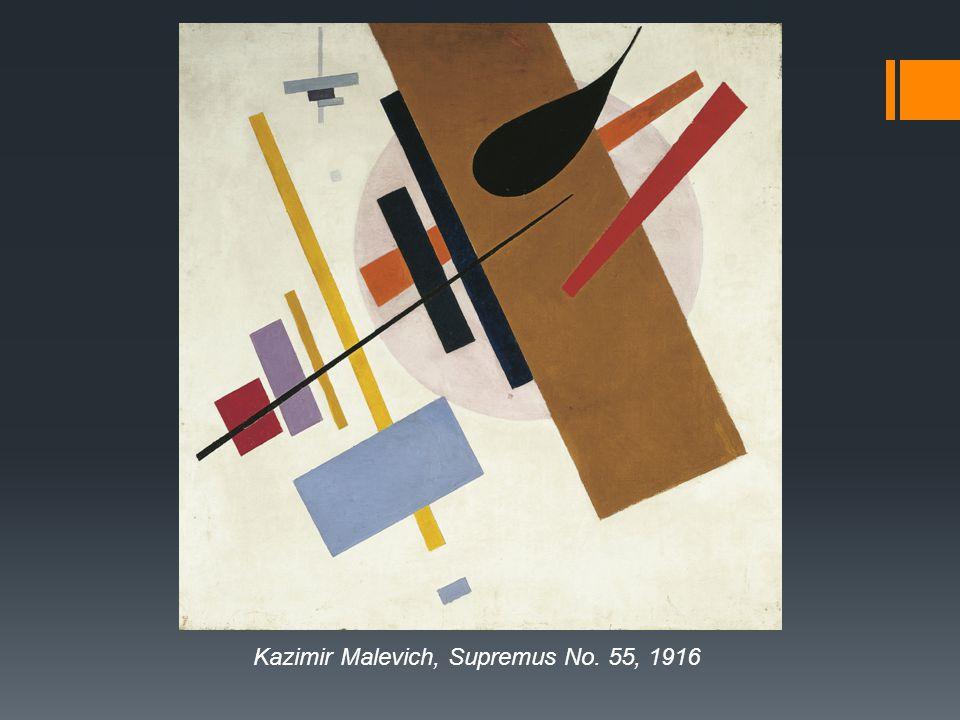 Kazimir Malevich, Supremus No. 55, 1916