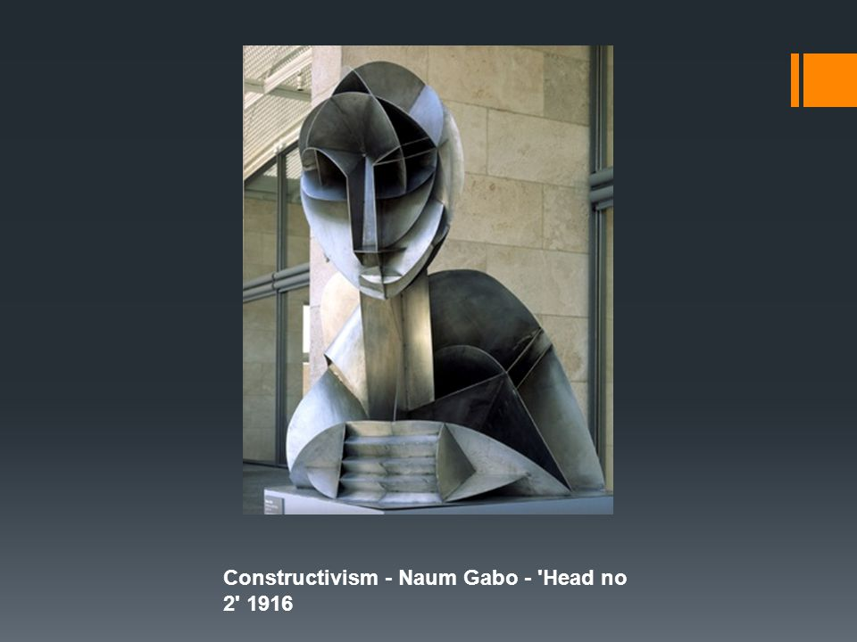 Constructivism - Naum Gabo - Head no 2 1916