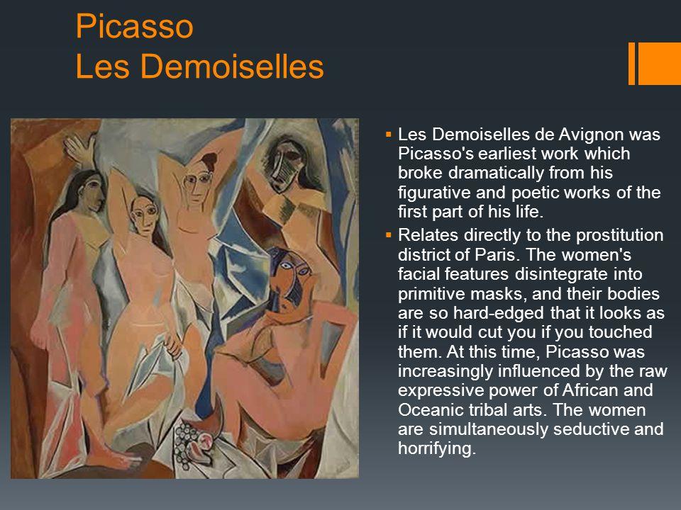 Picasso Les Demoiselles