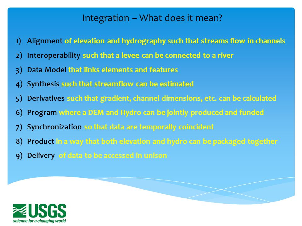 Integration – What does it mean