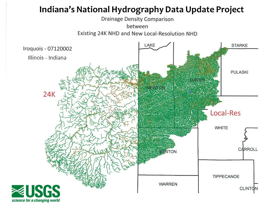 Indiana's National Hydrography Data Update Project