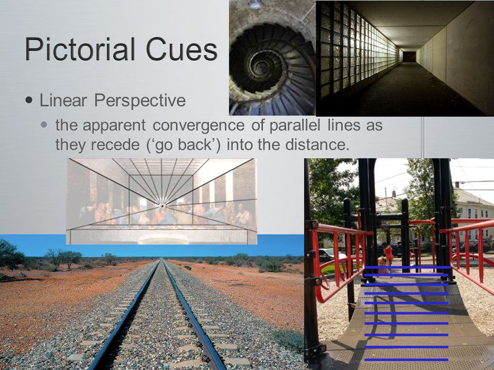Pictorial Cues Linear Perspective