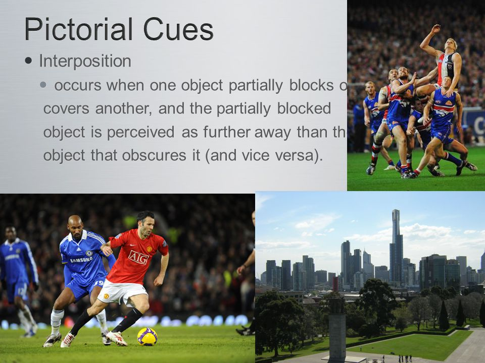 Pictorial Cues Interposition