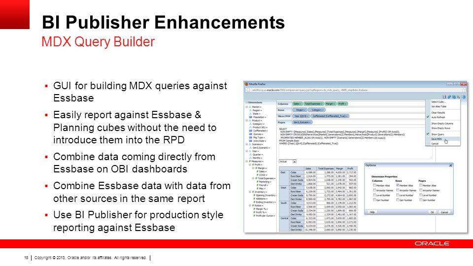 BI Publisher Enhancements