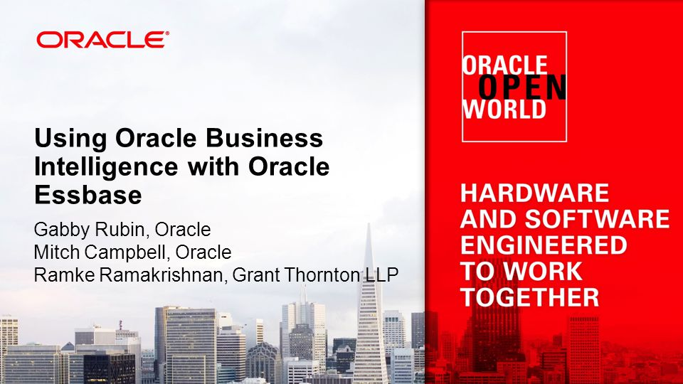 Using Oracle Business Intelligence with Oracle Essbase