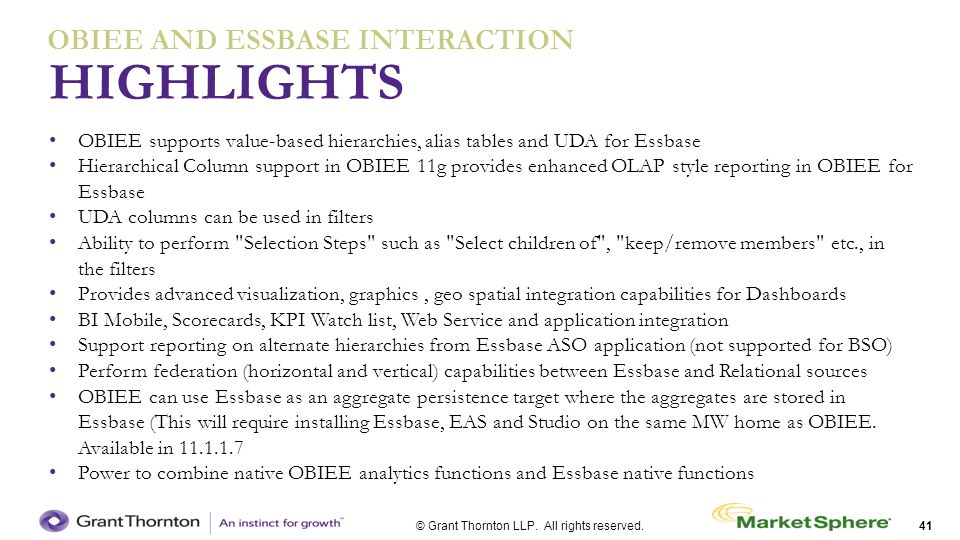 OBIEE AND ESSBASE interaction
