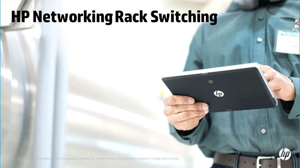 HP Networking Rack Switching