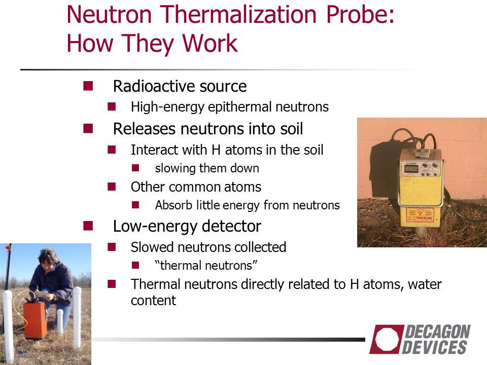 Neutron Thermalization Probe: How They Work