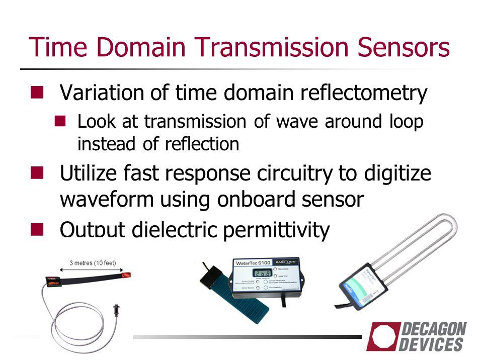 Time Domain Transmission Sensors