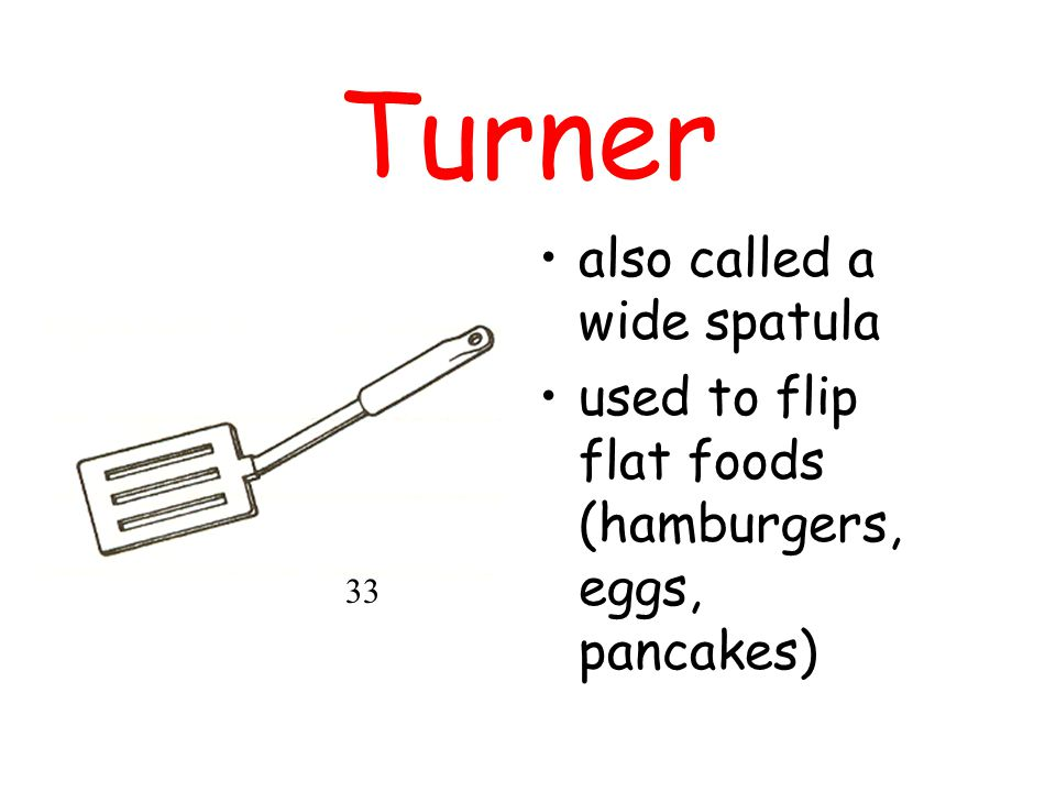 Turner also called a wide spatula