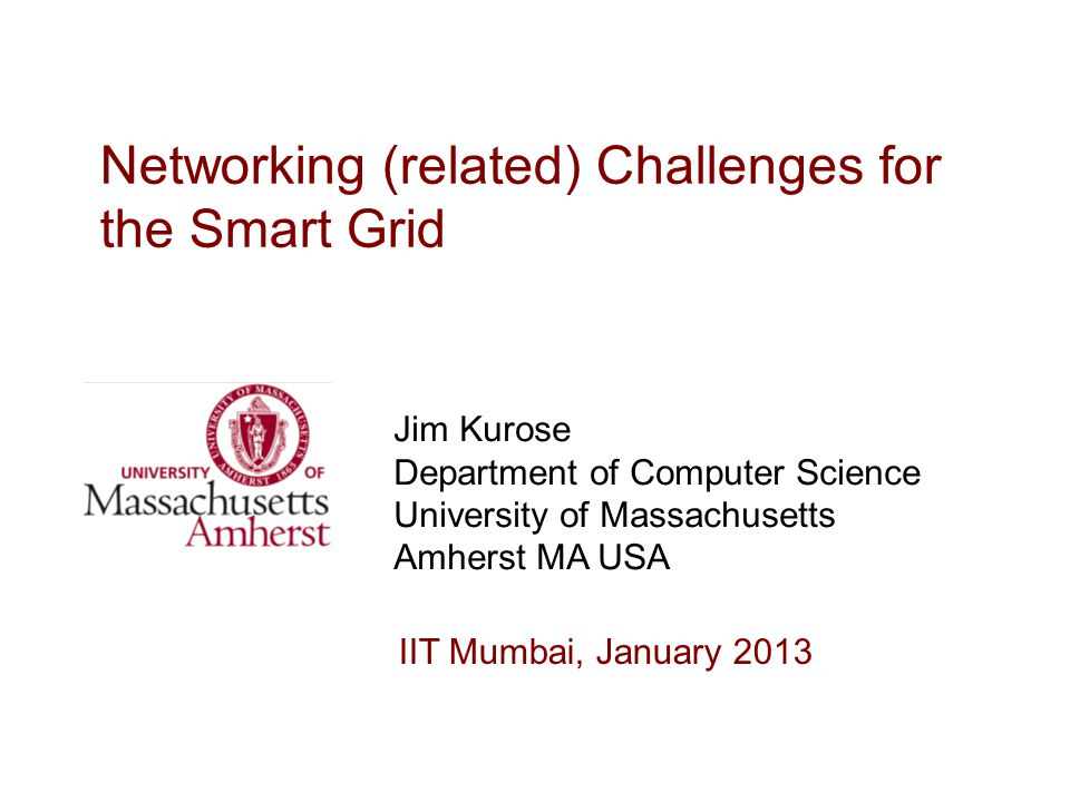 Networking (related) Challenges for the Smart Grid