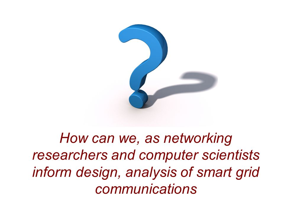 How can we, as networking researchers and computer scientists
