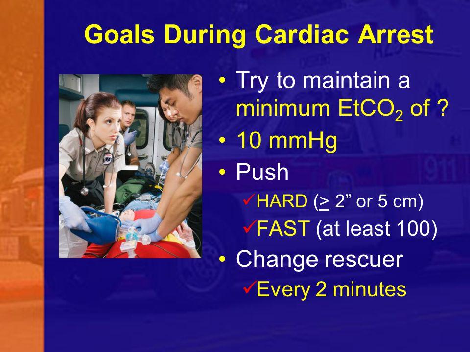 Goals During Cardiac Arrest