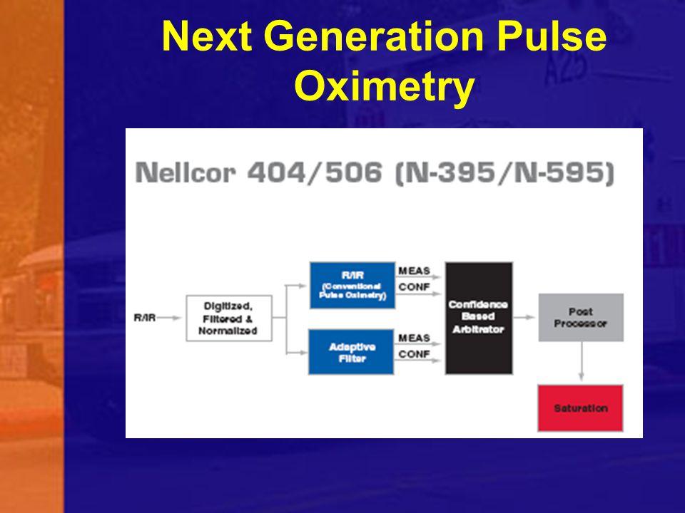 Next Generation Pulse Oximetry