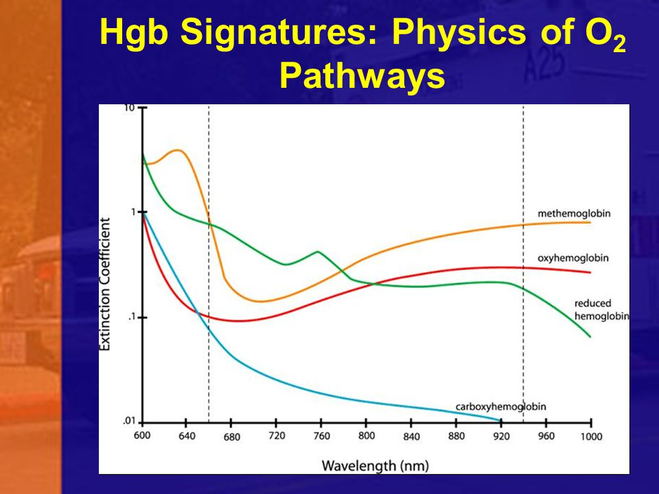 Hgb Signatures: Physics of O2 Pathways