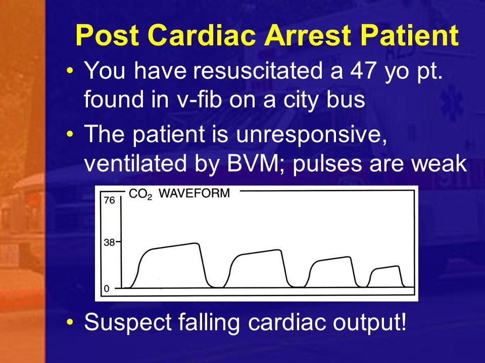 Post Cardiac Arrest Patient
