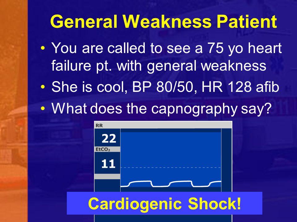 General Weakness Patient