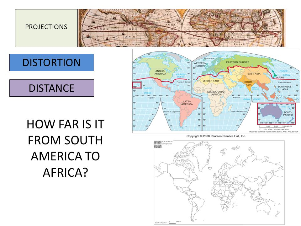HOW FAR IS IT FROM SOUTH AMERICA TO AFRICA