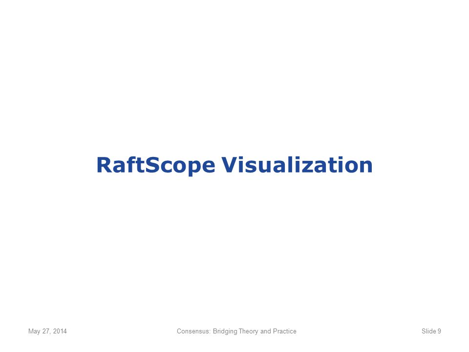 RaftScope Visualization