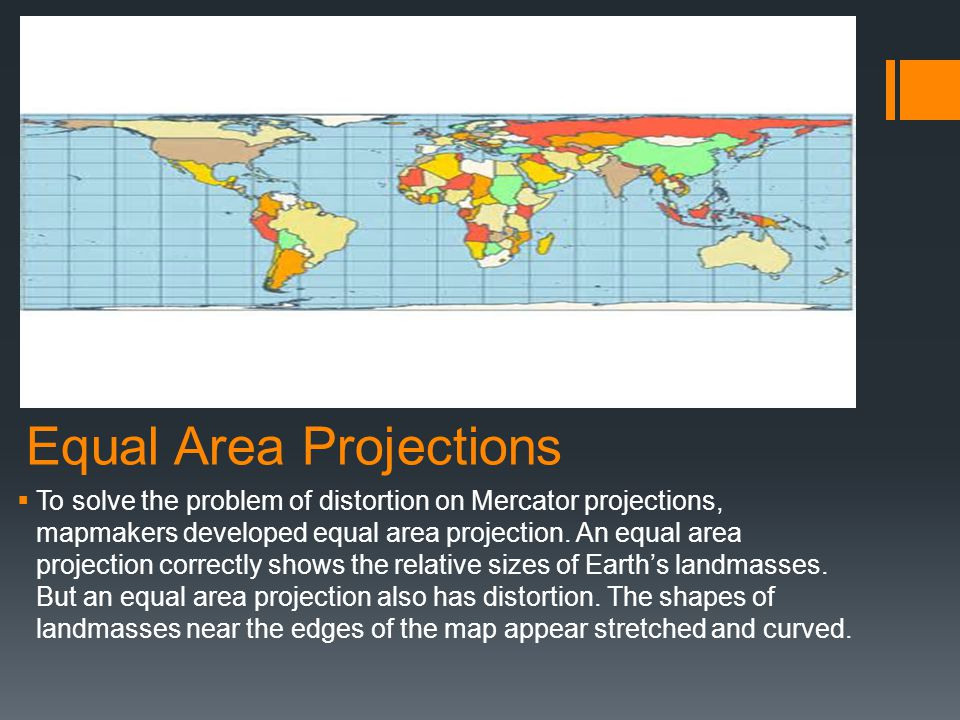 Equal Area Projections