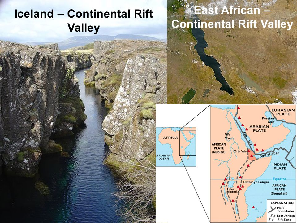 East African – Continental Rift Valley