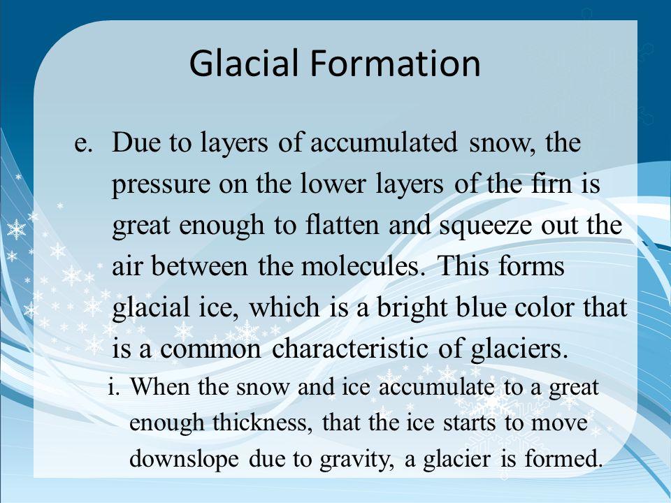 Glacial Formation