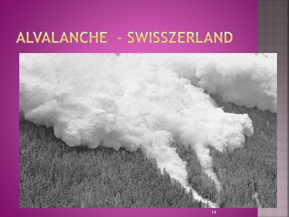 Alvalanche - Swisszerland