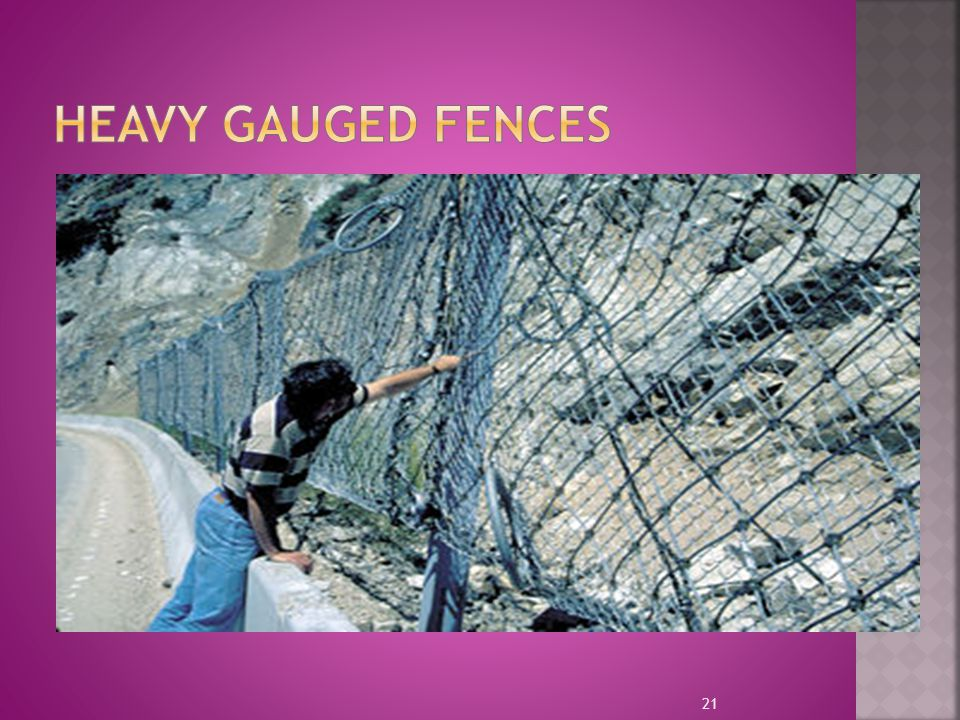 Heavy Gauged Fences