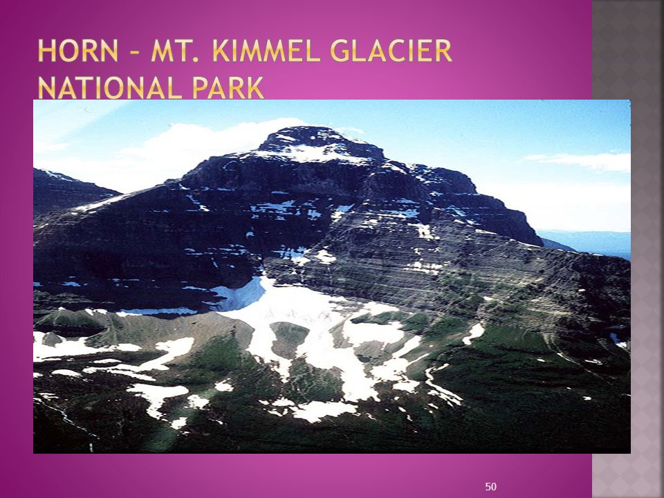HORN – Mt. Kimmel Glacier National Park