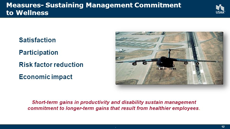 Measures- Sustaining Management Commitment to Wellness