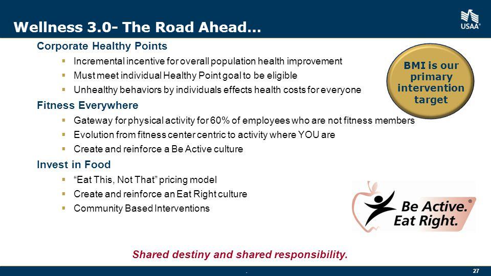 Wellness 3.0- The Road Ahead…