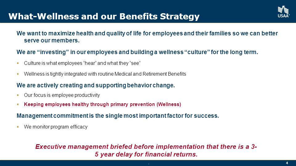 What-Wellness and our Benefits Strategy