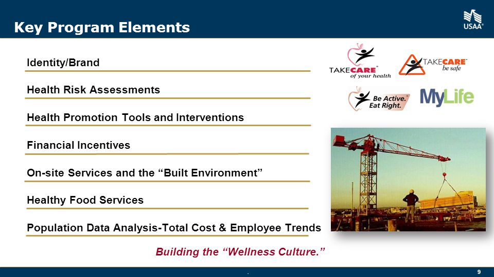 Building the Wellness Culture.