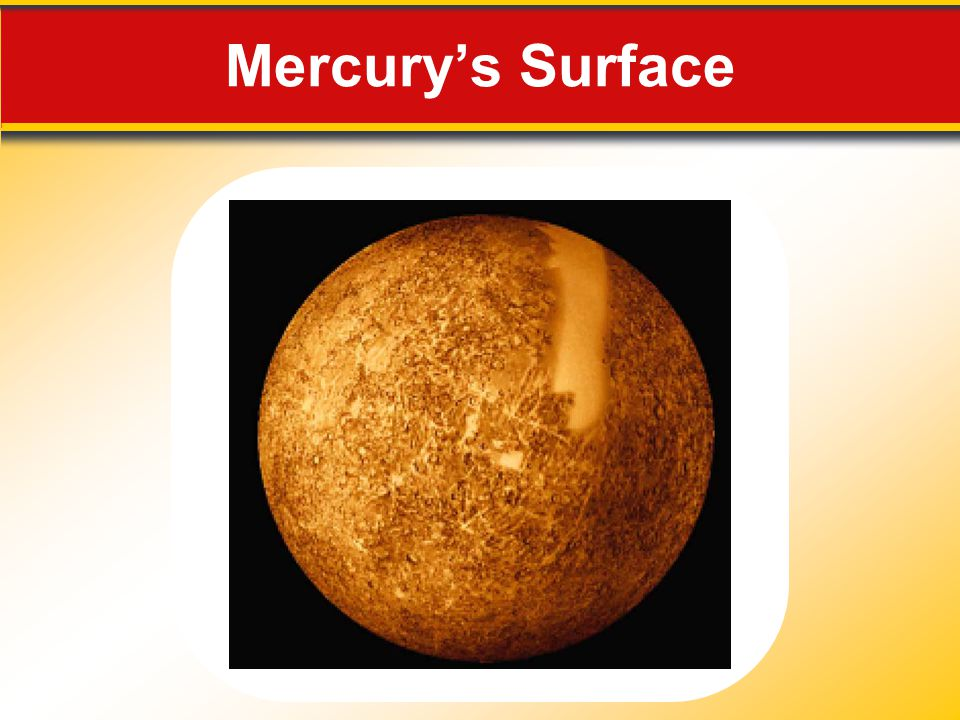 Mercury's Surface Makes no sense without caption in book