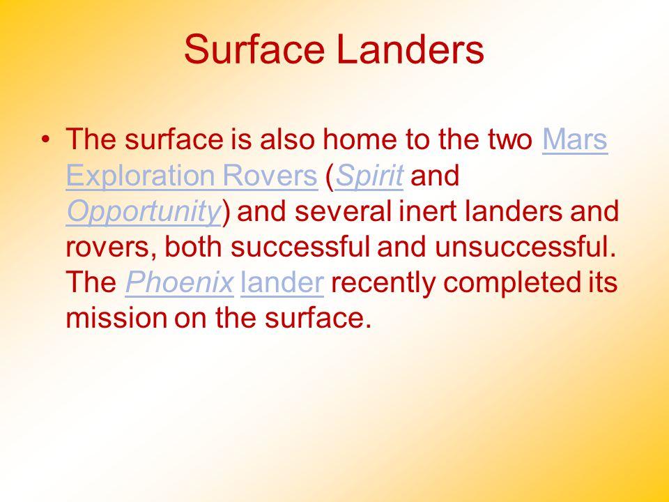 Surface Landers